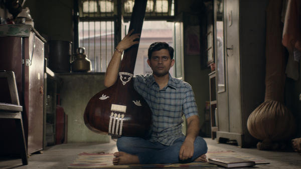 Aditya Modak plays an aspiring Hindustani classical musician in <em>The Disciple.</em>