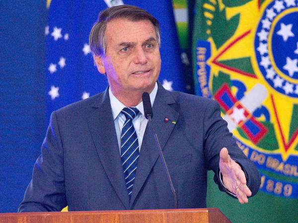 President of Brazil Jair Bolsonaro announced Monday that the country is directing more than $1 billion toward the production and distribution of COVID-19 vaccines.