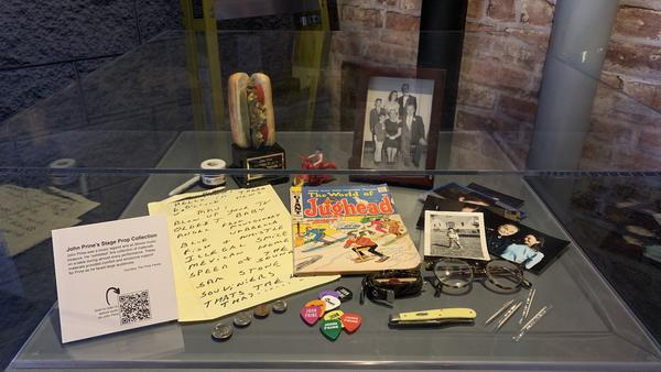 An exhibit at the Abraham Lincoln Presidential Library and Museum features stories from music legends with Illinois connections.
