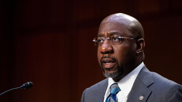 Sen. Raphael Warnock and his fellow Georgia Democrat, Jon Ossoff, are taking more progressive positions and sticking close to President Biden, while Arizona Democrats Mark Kelly and Kyrsten Sinema are opting for a more centrist approach.
