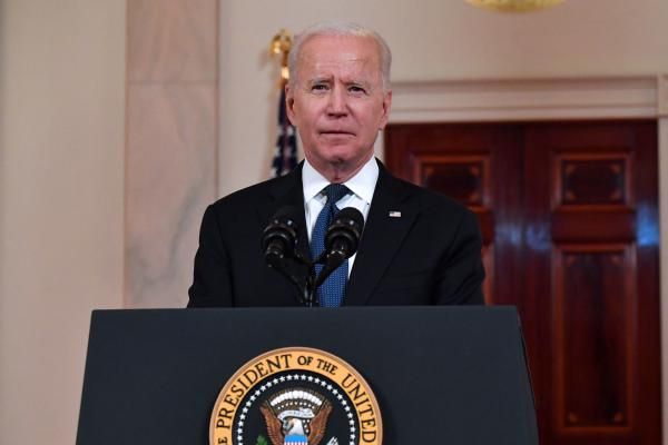 President Biden delivers remarks Thursday after news of a cease-fire plan between Israel and Hamas militants emerged.