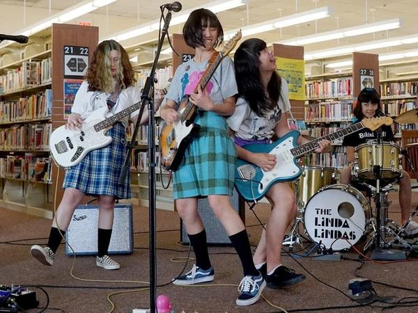 """The Linda Lindas' """"Racist, Sexist Boy"""" went viral last week. The band got a record deal within days from Epitaph Records."""