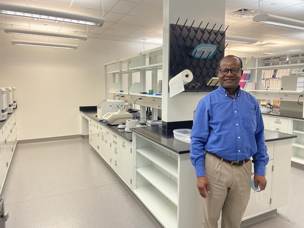 Jerry Saliki is the director of the Oklahoma Animal Disease Diagnostic Center in Stillwater, OK. His team stepped up to expand testing capacity at the height of the COVID-19 pandemic.