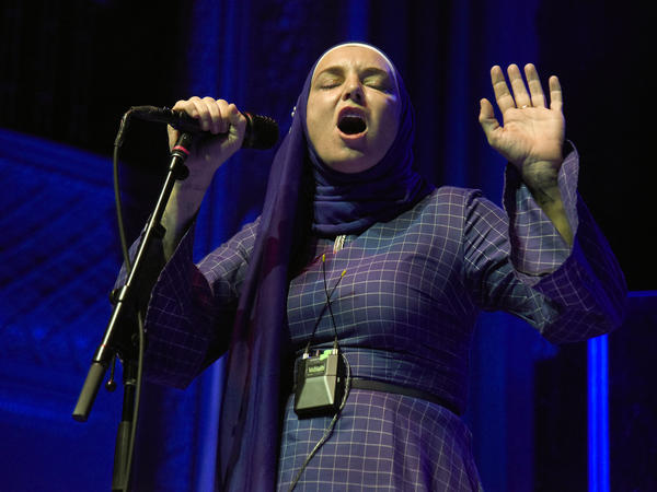 Sinead O'Connor performs at August Hall in San Francisco, Calif., in February 2020.