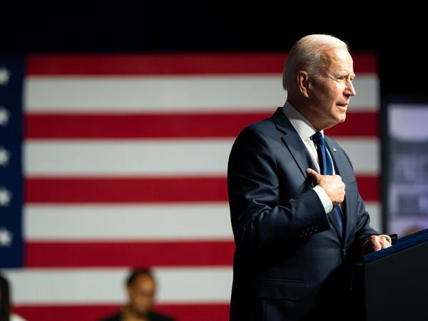 President Biden wants Vice President Harris to lead his administration's efforts to expand voting rights. The move comes as a number of GOP-led state legislatures have pushed to enact more voting restrictions.