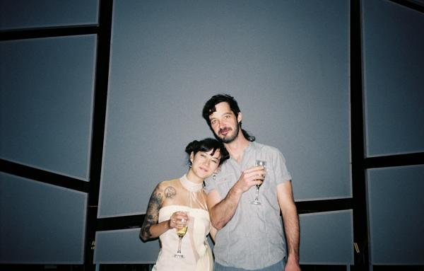 Michelle Zauner, the singer and creative driver of Japanese Breakfast, and Craig Hendrix, the band's drummer and co-producer.