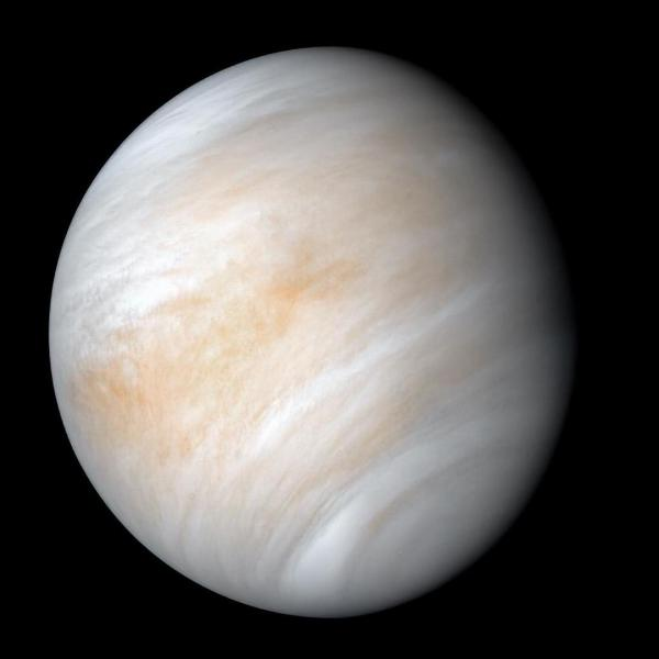 An image of Venus taken by NASA's Mariner 10 spacecraft as it sped past the planet in February 1974. NASA has decided to send two new probes to explore Venus.