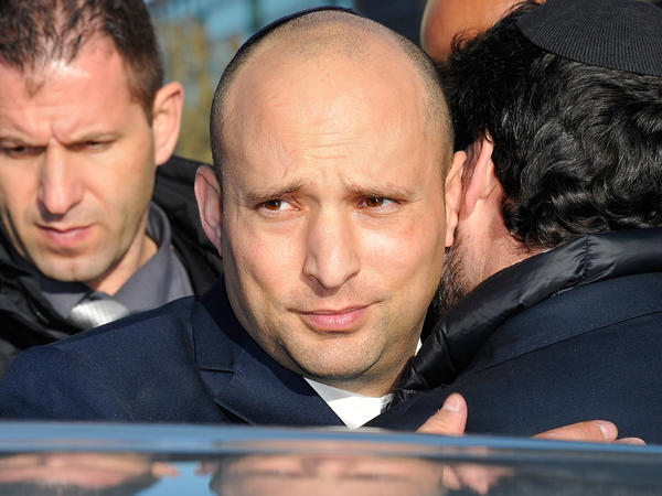 Naftali Bennett, seen here paying his respects in Paris following the terrorist attacks on Jan. 11, 2015. At the time, he was Israel's Economy Minister.