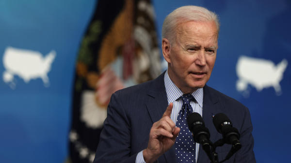 President Biden spoke on the phone Friday with Sen. Shelley Moore Capito — the latest in a series of talks on infrastructure between the two. Capito is leading the group of GOP senators working with the White House on a potential agreement.