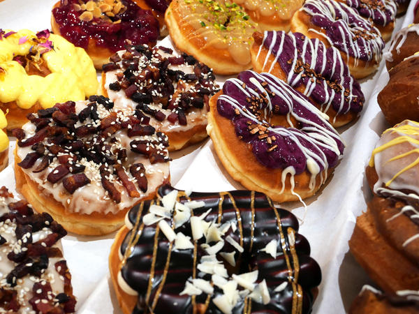 """The word """"doughnut"""" first appeared in the Oxford English Dictionary in 1782 but by the early 1800s, """"donut"""" became widely used."""