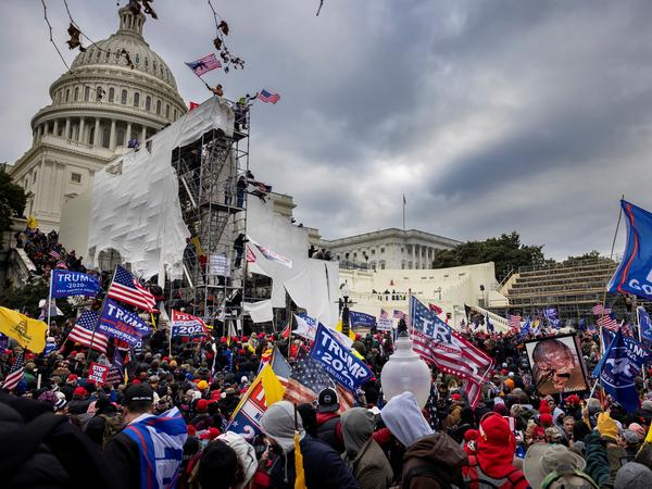 The Jan. 6 Capitol riot was just one story among many over this past year in which news language evolved to more accurately describe the event.