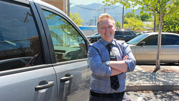 Therapist Kiki Radermacher was one of the first members of a mobile crisis response unit in Missoula, Mont., which started responding to emergency mental health calls last year. That pilot project becomes permanent in July and is one of six such teams in the state — up from one in 2019.