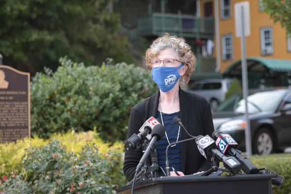 Acting state Public Health Commissioner Deidre Gifford