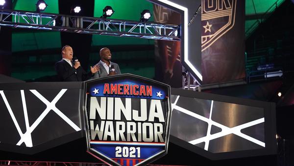 Hosts of NBC's <em>American Ninja Warrior</em> Matt Iseman and Akbar Gbajabiamila.