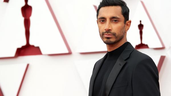 Riz Ahmed at the 2021 Academy Awards.