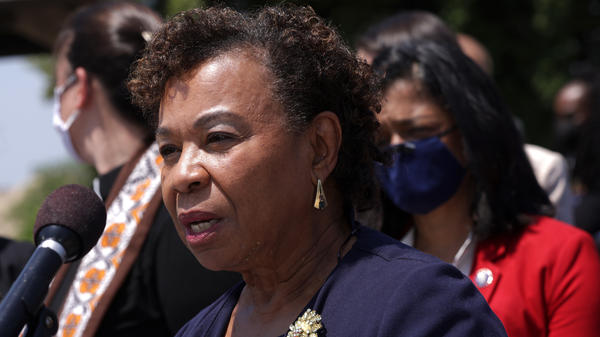 Rep. Barbara Lee, D-Calif., was the sponsor of the House bill to repeal the 2002 Authorization for Use of Military Force in Iraq. The measure now heads to the Senate.