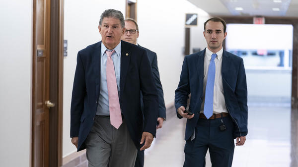 Sen. Joe Manchin, D-W.Va., has unveiled a series of voting and election provisions he'd support.