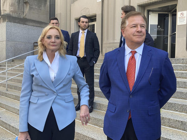 Patricia McCloskey and her husband Mark McCloskey pleaded guilty to misdemeanor crimes on Thursday. They also agreed to forfeit both weapons they used when they confronted protesters in front of their home in June of last year.