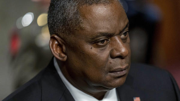 Secretary of Defense Lloyd Austin appears at a Senate hearing earlier this month. On Tuesday, he said he will support long-debated changes to the military justice system that would remove decisions on prosecuting sexual assault cases from military commanders.