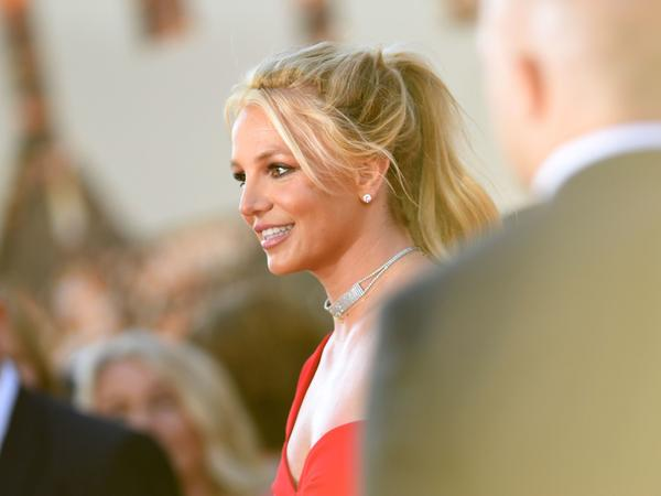 Britney Spears arrives for a movie premiere in Hollywood, Calif., on July 22, 2019. On Wednesday, the singer asked a judge to end her conservatorship.