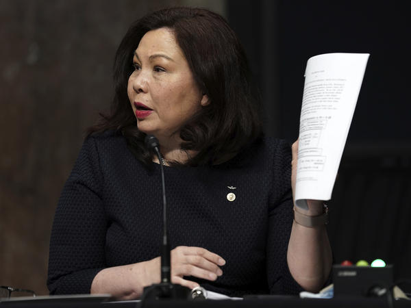 Sen. Tammy Duckworth is introducing three bills that would, among other things, protect immigrants who served in the U.S. military from deportation.