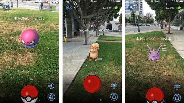 In the new Pokémon Go app, players can use their smart phone to see, battle, and catch the monsters in their world. The app will be released to the public sometime in July.