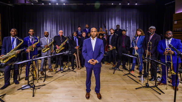 After facing a calamitous scandal that cast doubt on its very future, the New Orleans Jazz Orchestra has returned with new leadership and a new album, featuring songs by its city's patron saint of rebirth, Allen Toussaint.