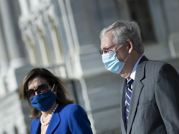 House Speaker Nancy Pelosi and Senate Majority Leader Mitch McConnell are now in direct talks about coronavirus relief aid after weeks of pushing competing proposals.