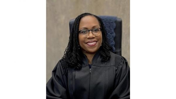 Judge Ketanji Brown Jackson is President Biden's pick to replace Merrick Garland on the U.S. Court of Appeals for the District of Columbia Circuit. Jackson is seen as a possible Supreme Court justice should a vacancy arise.