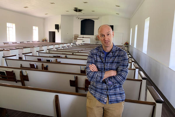 Pastor J.P. Conway leads the Acklen Avenue Church of Christ in Nashville. When members started telling him they got vaccinated, he began keeping track. Now, he says 99% have been immunized.