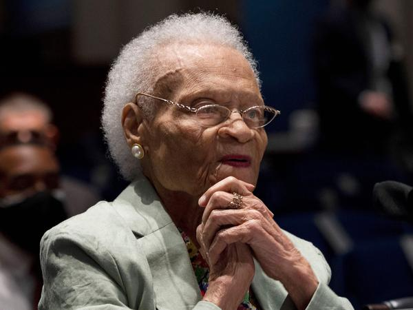 """Viola Fletcher, the oldest living survivor of the Tulsa Race Massacre, tells a congressional hearing: """"I have lived through the massacre every day. Our country may forget this history, but I cannot."""""""
