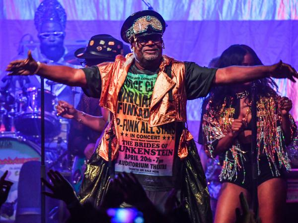 With his band Parliament Funkadelic, George Clinton paved the way for generations of free-spirited musicians who came after him.