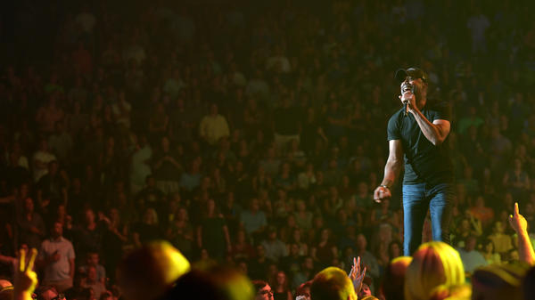Darius Rucker of Hootie And The Blowfish performs at Bridgestone Arena in 2019. Some acts looking to tour arenas like this are looking as far ahead as 2024.