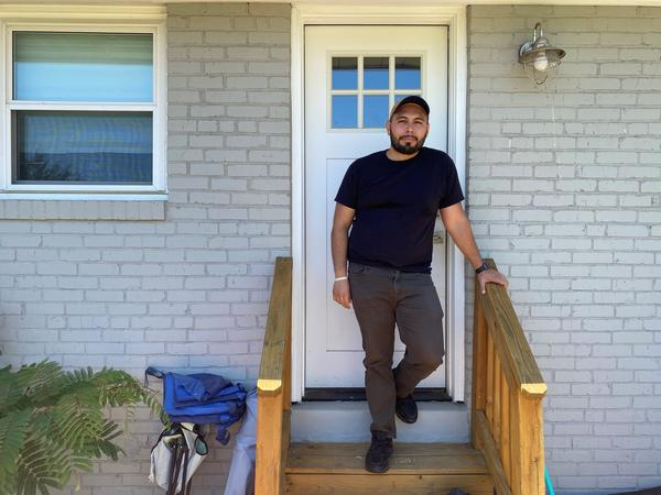 Jonathan Caballero is among the millions of workers who are rethinking how they want to live their lives after the pandemic. He has found a new job that won't require a long commute.