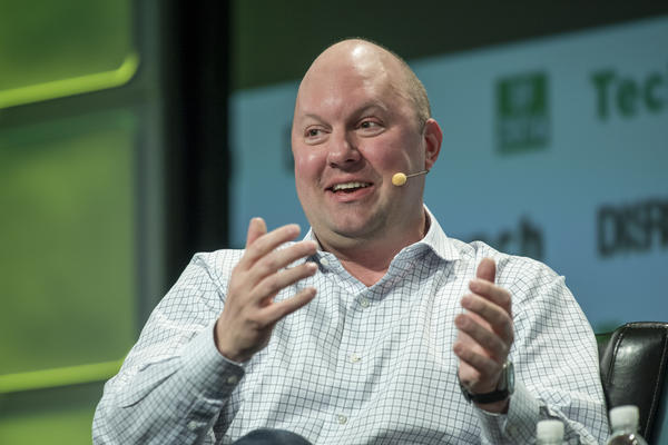 Marc Andreessen, co-founder and general partner of Andreessen Horowitz. The venture capital firm recently launched a media property recently known as Future, the latest in a string of Silicon Valley companies making in-house publications aimed at friendly, pro-tech coverage.