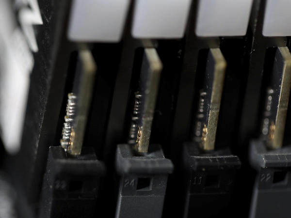 This file photo shows the inside of a computer in Jersey City, N.J. Cybersecurity teams worked feverishly Sunday, July 4, to stem the impact of the single biggest global ransomware attack on record, with some details emerging about how the Russia-linked gang responsible breached the company whose software was the conduit.
