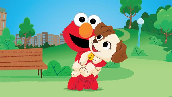 <em>Sesame Street's</em> Elmo adopts a puppy in a new special, <em>Furry Friends Forever</em>.