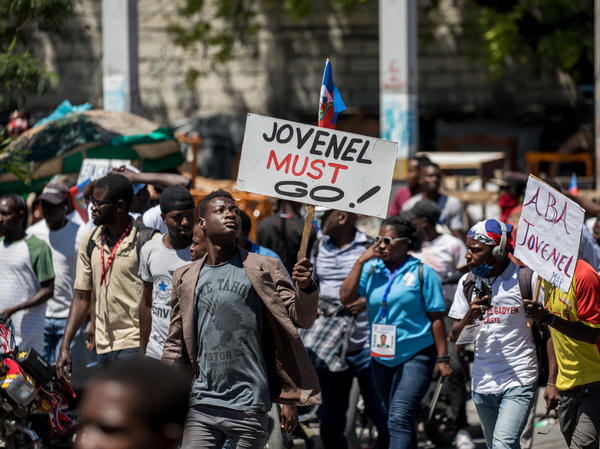 In March, Haitians in Port-au-Prince protested a draft constitutional referendum pushed by President Jovenel Moïse.