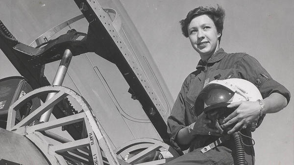 Wally Funk is one of the Mercury 13, a group of women who trained to be astronauts in the 1960s.