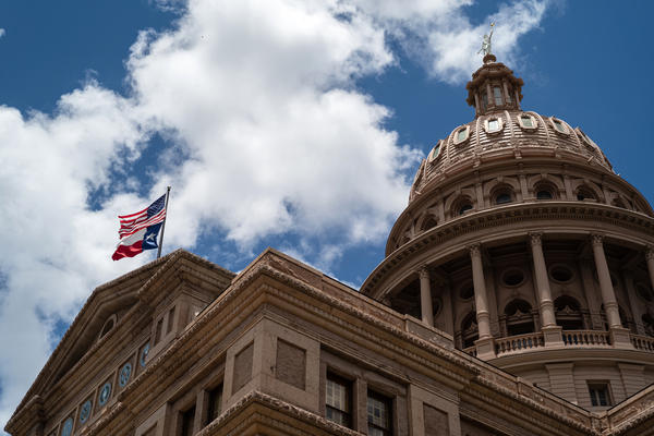 The first day of the Texas Legislature's special session began last week at the Capitol in Austin. Republicans, who control the state, are attempting to pass new voting laws that will add penalties and make it more difficult to cast a ballot.