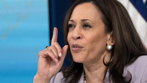 Vice President Harris speaks about voting rights at the White House complex on June 23. President Biden tapped her to lead the administration's efforts on the issue.