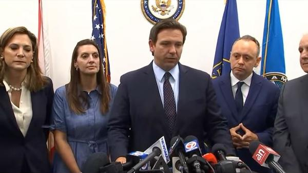 """Said DeSantis: """"The best role for the military is the Cuban military to realize that time is up. You can't keep doing the bidding of a repressive dictatorship that is not governing with the consent of the governed."""""""
