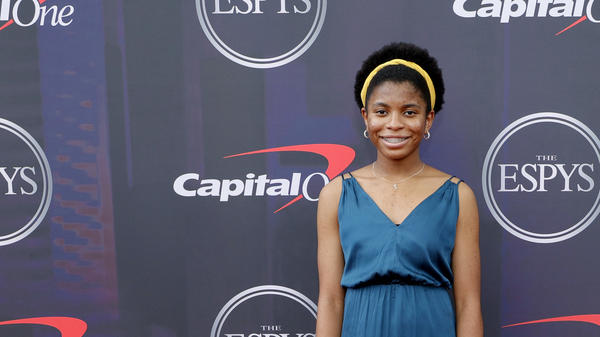 Zaila Avant-garde attends the 2021 ESPY Awards on July 10 in New York City. She says she's enjoyed the traveling since winning the spelling bee.