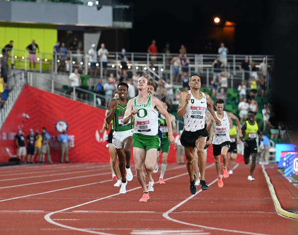 The Tokyo Games could feature an exciting rematch in the 1500 meters between two generations of Oregon Ducks. Sophomore Cole Hocker edged out 2016 Olympic gold medalist Matthew Centrowitz at the U.S. Olympic Team Trials on June 27.