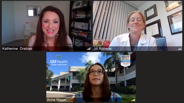 Professors from the University of South Florida's College of Public Health are urging parents to mask their students and to watch for signs of illness as the school year approaches.