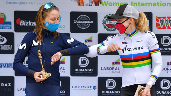 Annemiek Van Vleuten, left, and Anna Van Der Breggen are among the elite cyclists who are expected to race in next summer's Tour de France Femmes, a one-week race for women.
