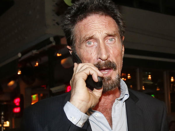 Antivirus software founder John McAfee was found dead in a prison cell in Spain on Wednesday, McAfee's lawyer said.