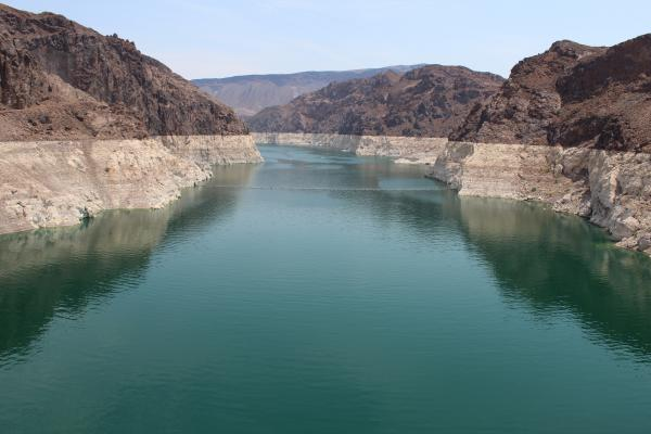 Lake Mead, the nation's largest reservoir, has been hit hard by warming temperatures and downstream demands.