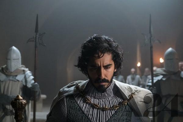 Dev Patel plays Sir Gawain, King Arthur's nephew, in <em>The Green Knight</em>.