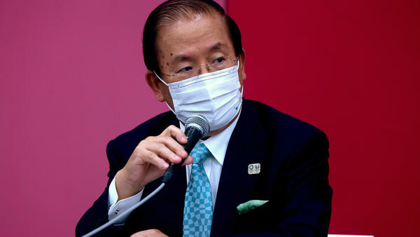 Tokyo 2020 CEO Toshiro Muto says officials will evaluate the status of the Games depending on the rates of coronavirus infections.